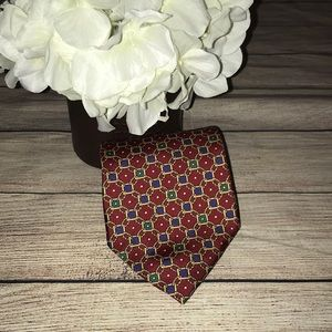 Christian Dior Chain Link Print Neck Tie